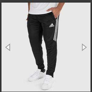 Adidas MEN'S TIRO 17 PANT (BLACK   WHITE) Size Lg